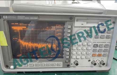 【维修3例】是德/安捷伦35670A动态信号分析仪故障维修